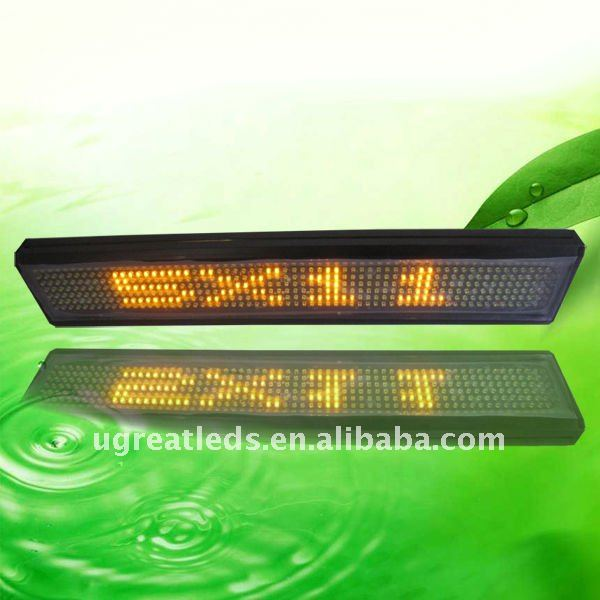 7x64 Programmable P10 Led Bus Display