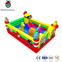 CN Kids entertainment wholesale inflatable bouncy castle with water slide