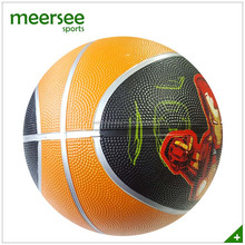 Promotional good quality natural rubber team usa basketball