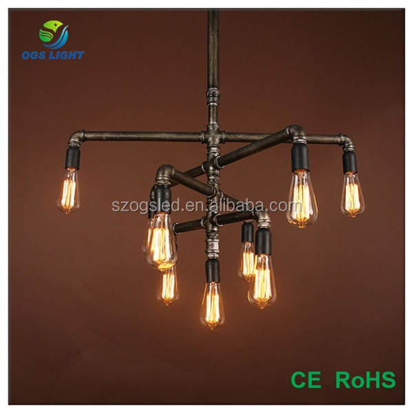 Alibaba New Products Vintage Industrial Pipe Lamps Bar Decorative ...