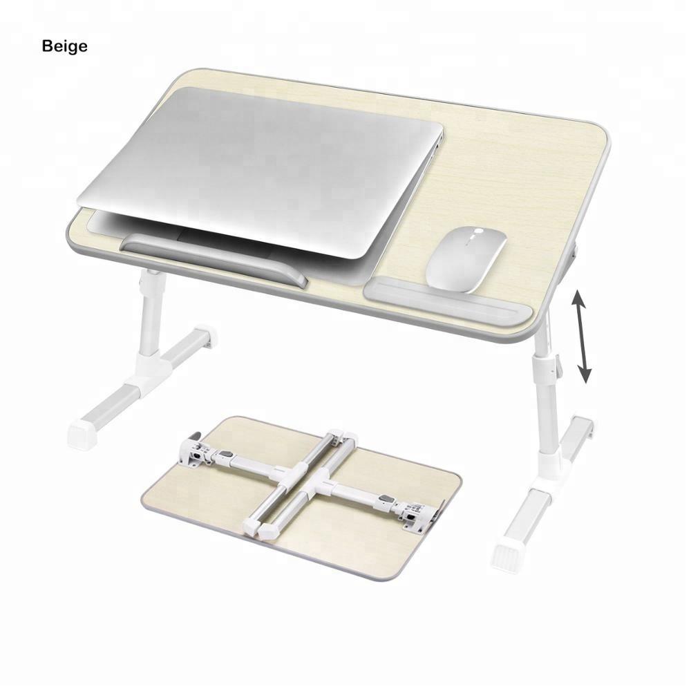 917edccd55e Amazon popular multiple color wooden folding adjustable laptop wooden table