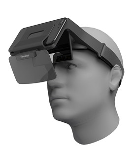 Customized New AR Glasses Augmented Reality Headset Mobile Phone 3D Game AR/VR viewer