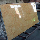 SONSILL 1220 x 2440mm marble design UV coated wall panel plastic in China