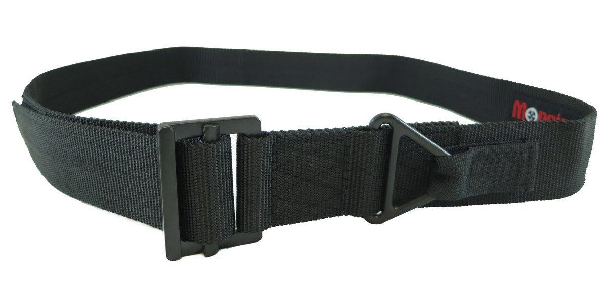 "Monstrum Tactical TB07 Heavy Duty Tactical Belt - Black, Large (32""-38"")"