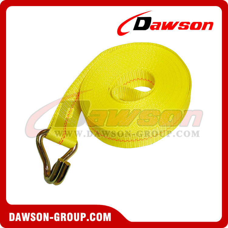 dawson 2 inch x 5 ft Roll Off Container Winch Strap
