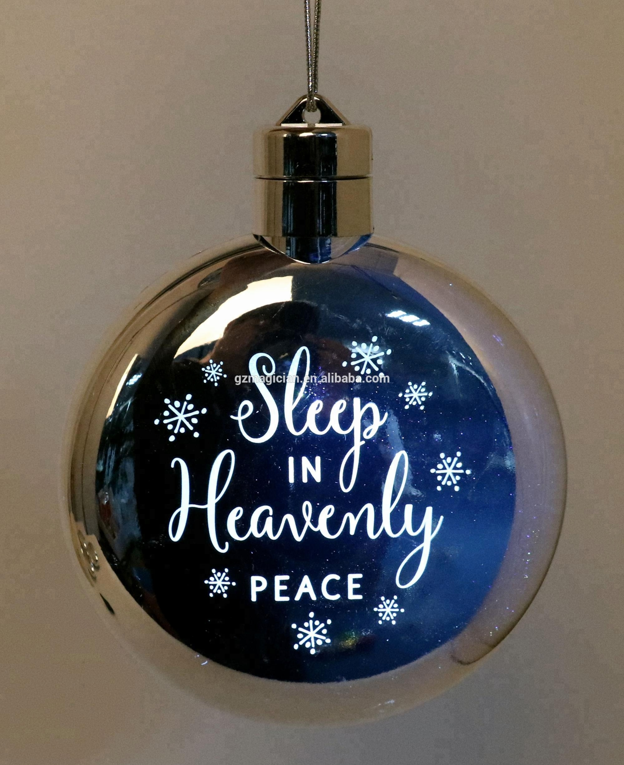 Wholesale Christmas Ball Ornament Suppliers Mercury Glass