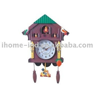Plastic cuckoo wall clock with bird sound ih 8635 buy cuckoo wall clock wall clock with - Cuckoo bird clock sound ...