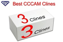 Spain Germany French Euexp CCCAM 3 Clines Use For One Year.Can Have Test Clines. For Satellite TV Receiver Support CCCAM C-Line