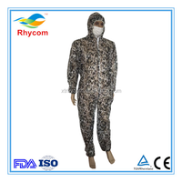 How much China Disposable Nonwoven camouflage overall by manufacturer