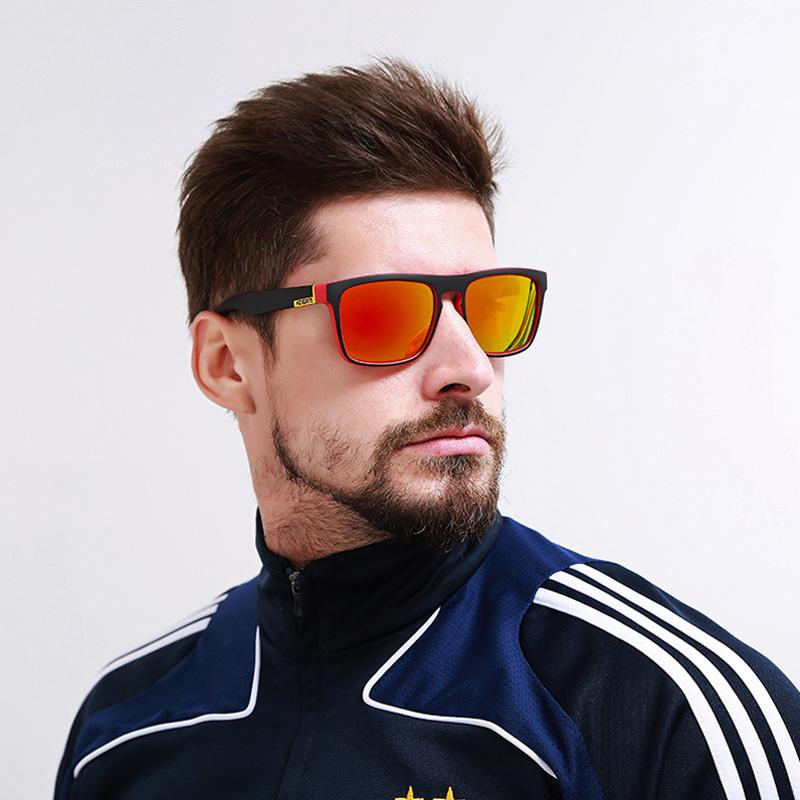 ADE WU KDEAM KD156 square frame polarized sunglasses sports sun glasses unisex outdoor leisure UV400