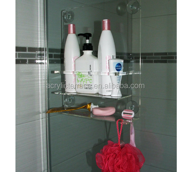 Clear Lucite Wall-mounted Shower Caddy-ha1403023046-bathware - Buy ...
