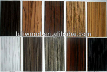 Best Price High Gloss Solid Colour Or Wood Grain Mdf Board