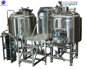 Stainless steel home or hotel used Micro beer brewing equipment 300L beer brewery