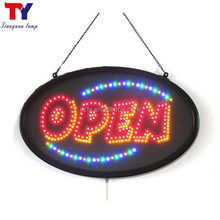 yancheng led open signs indoor with UL/CE certificate power supply