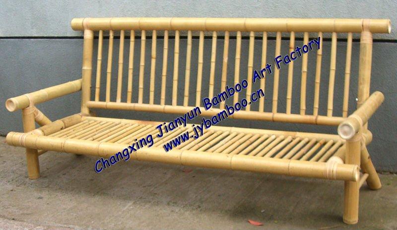 Living Room Bamboo Sofa Settee Chair Product On Alibaba