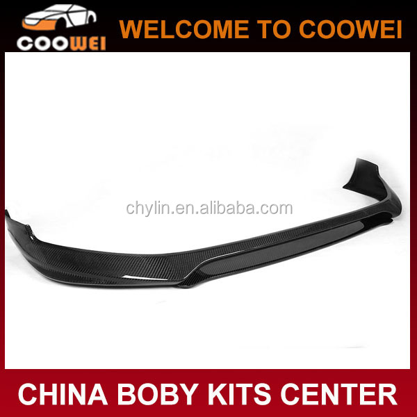 golf 7 gti carbon fiber front lip for vw golf7 gti body kit