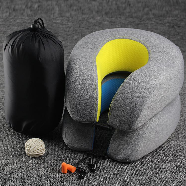 卸売トラベルセット低反発ネックマッサージヘッド枕
