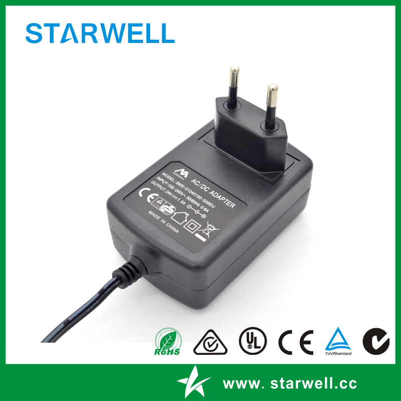 9V power supply with 3A output 27W switching power supply for CCTV Camera
