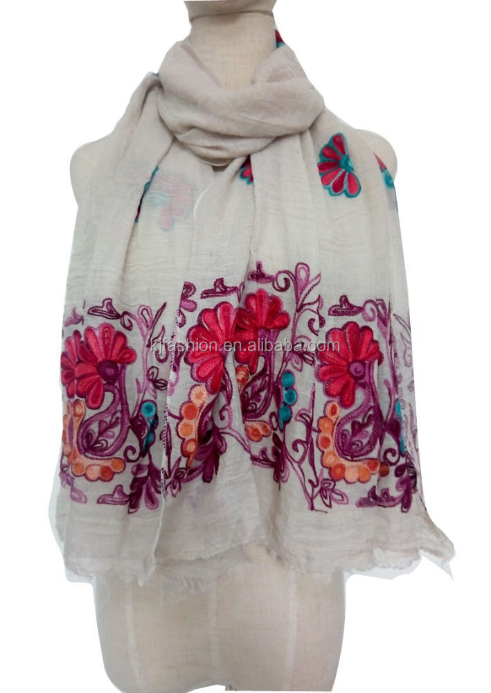 Elegant Floral Print Fashion Scarf Wrap - Different Colors Available