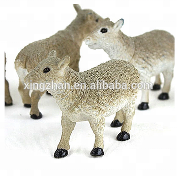 Oem Plastic Sheep Figurne Farm Animal Set Pvc Animal Stuffed Toy For