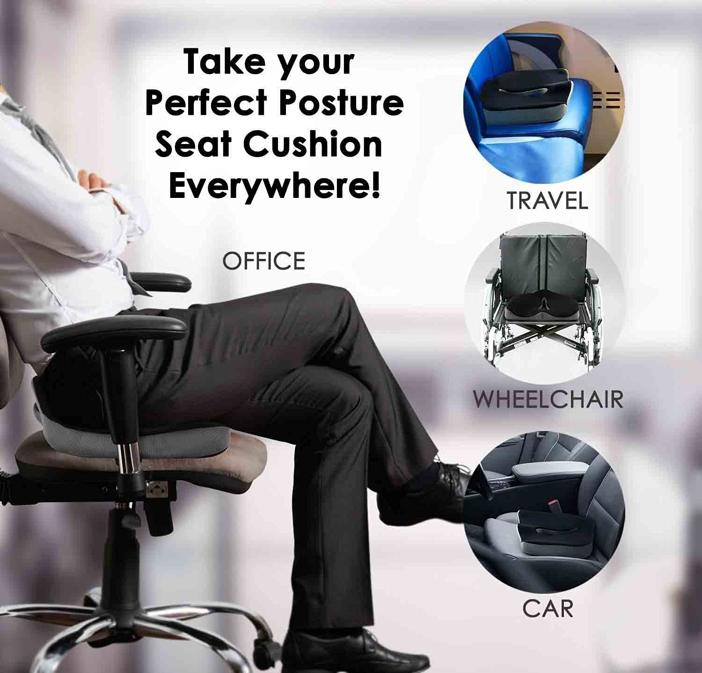 Seat Cushion Car Chair Sciatica Prostate