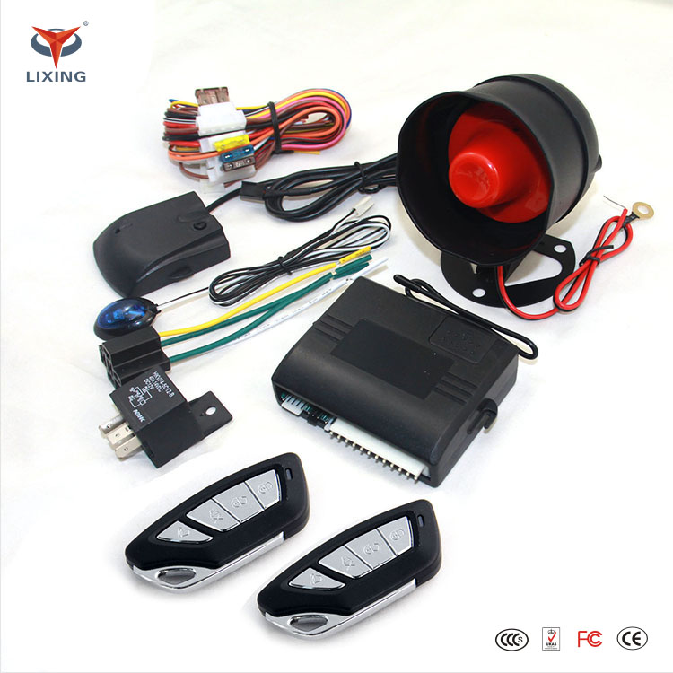 Universal remote high quality electric shock car alarm pager system