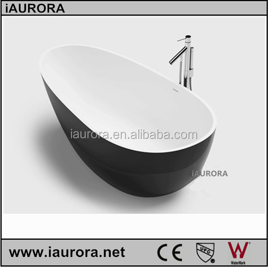 black egg shaped bathtub with cheap prices