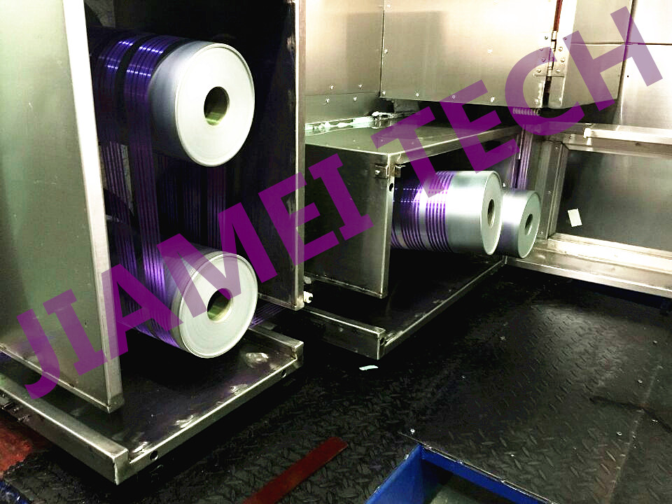 Line Drawing Yarn : Pet pp filament spinning plant fdy yarn machine