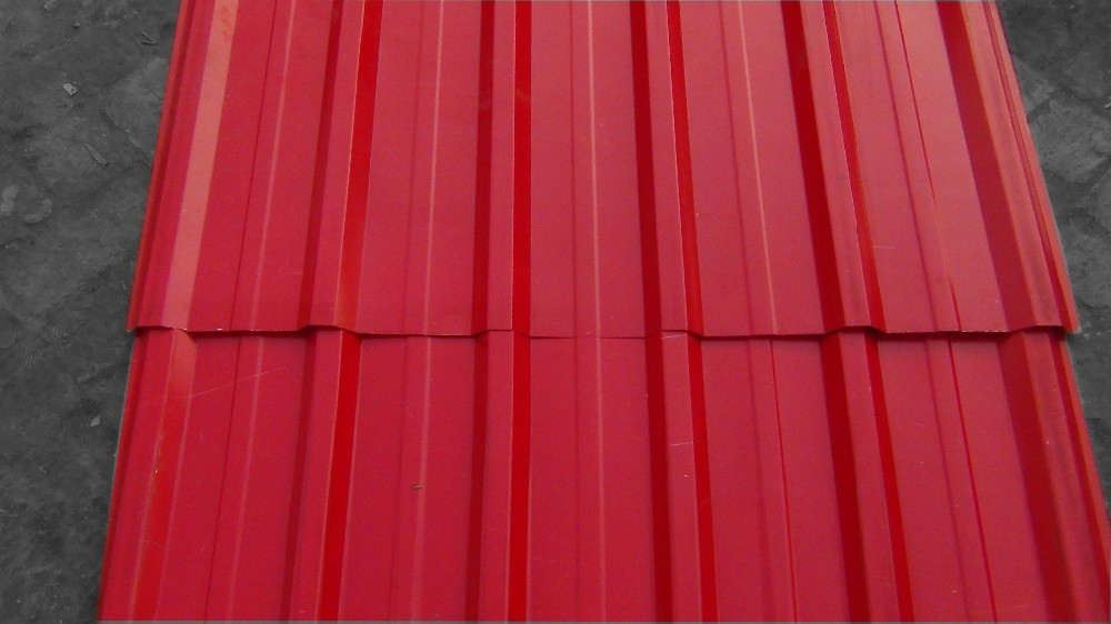 Aluminum Galvanized Colored Coated Steel Metal Roofing
