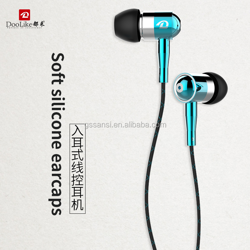 Hot selling Wired Stereo in ear Earphone with mic /Earbuds/ Headset /Headphones earphone фото