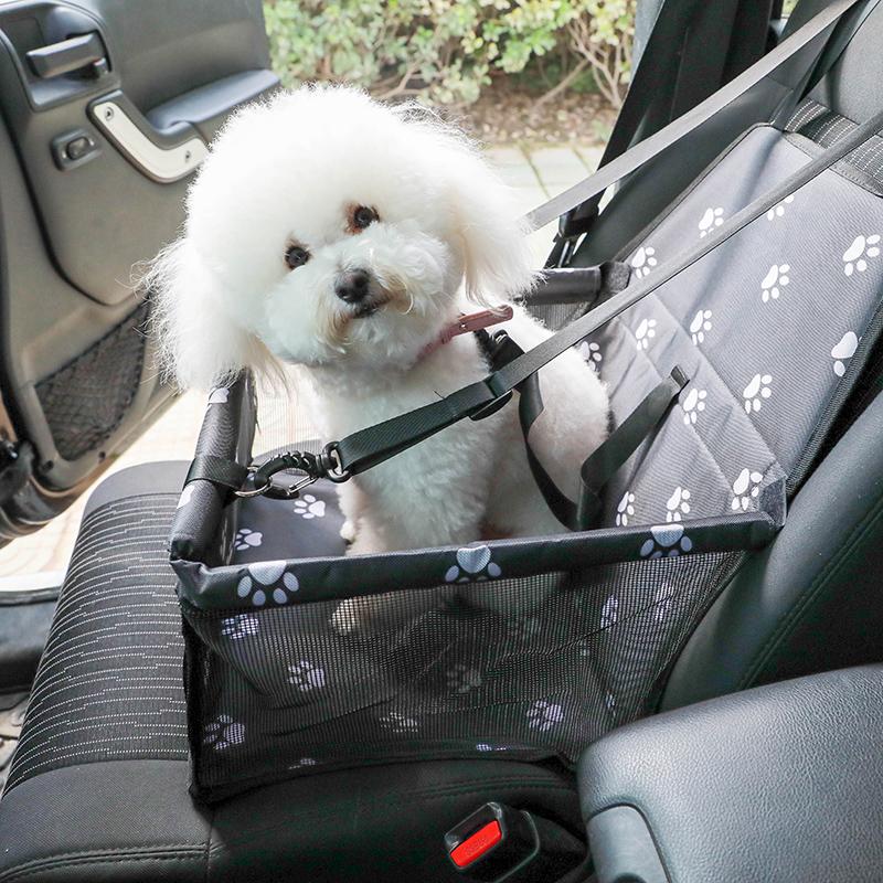 Patterned כפה לחיות מחמד כלב רכב מושב מיטת כיסוי למושב קדמי