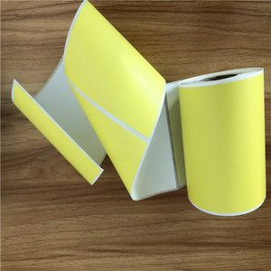 full color printing direct thermal labels 38x18mm
