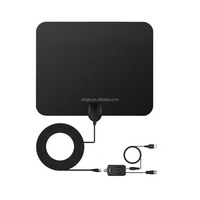 Flexible HDTV indoor digital tv antenna for car or home use