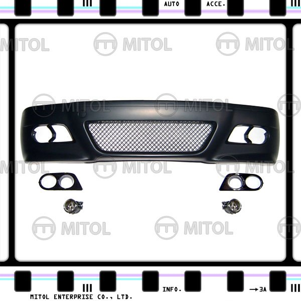 For BMW E46 4D Front Bumper (M3 Look) Car Body Kits