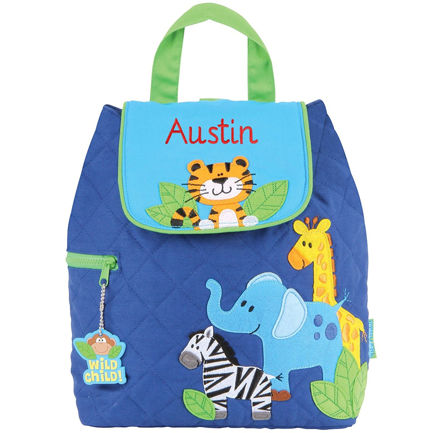 5d5958df1ca3 Buy Personalized Stephen Joseph Go Go Boy Zoo Backpack with ...