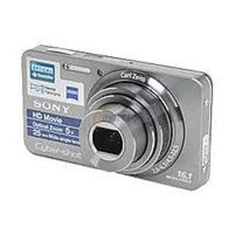 Sony Cyber-Shot DSCW570 16.1 Megapixels Digital Camera - 5x Optical/2x Digital Zoom - 2.7-inch LCD Display - Silver