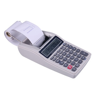 12 Digit Office Desktop Print Caculator With Printing New Mini Billing Calculator
