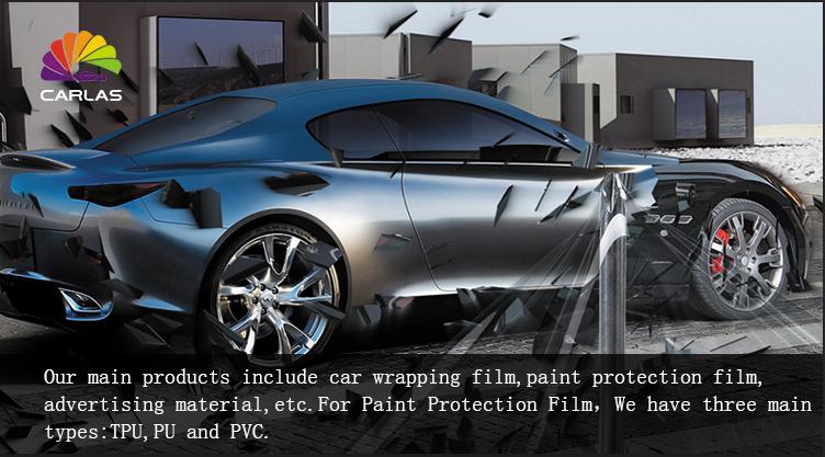 CARLAS PPF fabricante mate ppf protección de pintura de coche de la película 1,52*15 M TPU para del cuerpo del coche