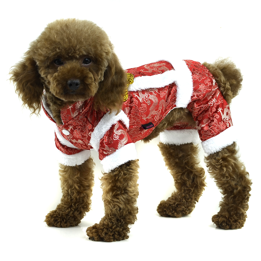 Buy Cheap Dog Clothes Dog Winter Coat Pet Jumpsuit Red Blue Pink