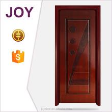 china de acero piel puerta interior puerta de madera de acero con bajo precio y alta
