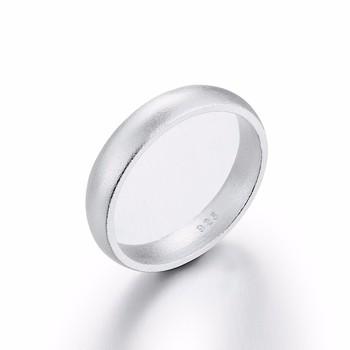 eenvoudige zilveren ring
