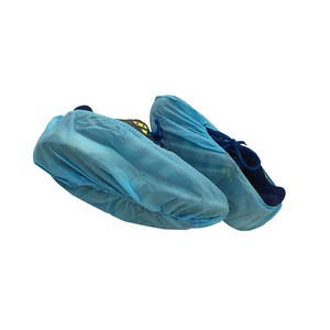 Custom Waterproof Non Woven Disposable Shoe Cover For Men