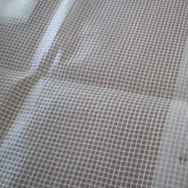 Super clear pvc mesh fabric for automobile