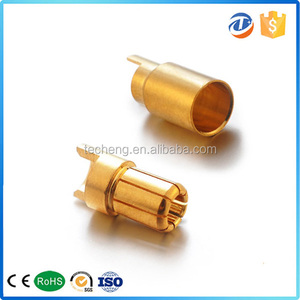 high quality 1mm mini banana plug groove type for car truck airplane charging leads bullet connector