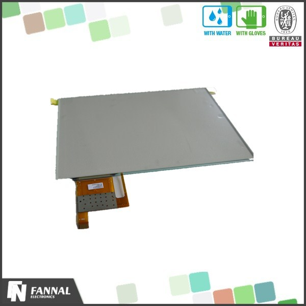 8'' tft capacitive touch panel with G+G structure