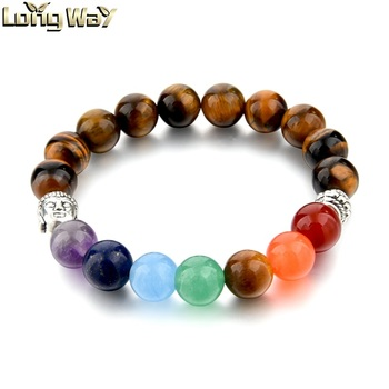 Best Ing Natural Stone Bead Positive Energy Chakra Bracelet Whole From China