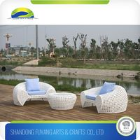 Outdoor Rattan Coffee Chair And Table