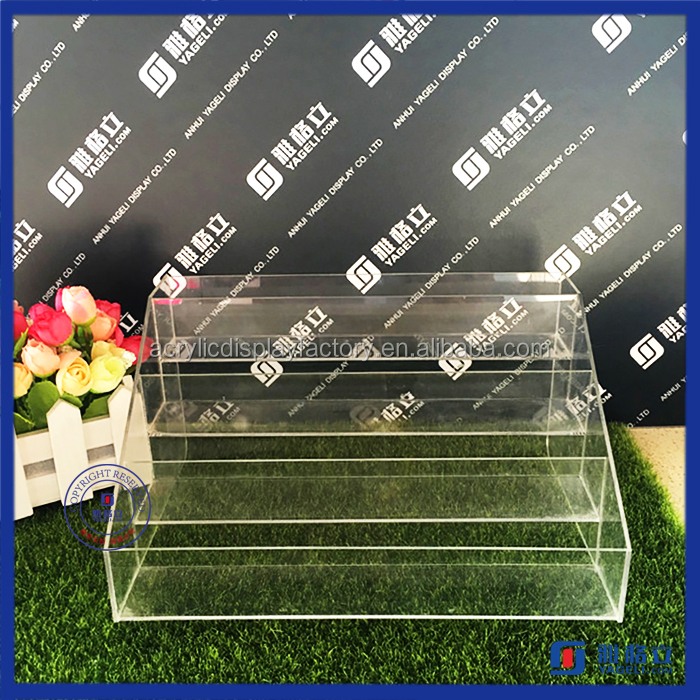 Yageli Fashionable unique design opi nail polish display rack, lovely nail varnish display, plexiglass display for nail polish