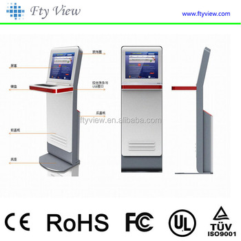 Self Service Payment Kiosk With Atm,Bill,Printing Photo Booth,Card  Reader,Ticket Vending Machine - Buy Ticket Vending Machine,Self Service  Payment