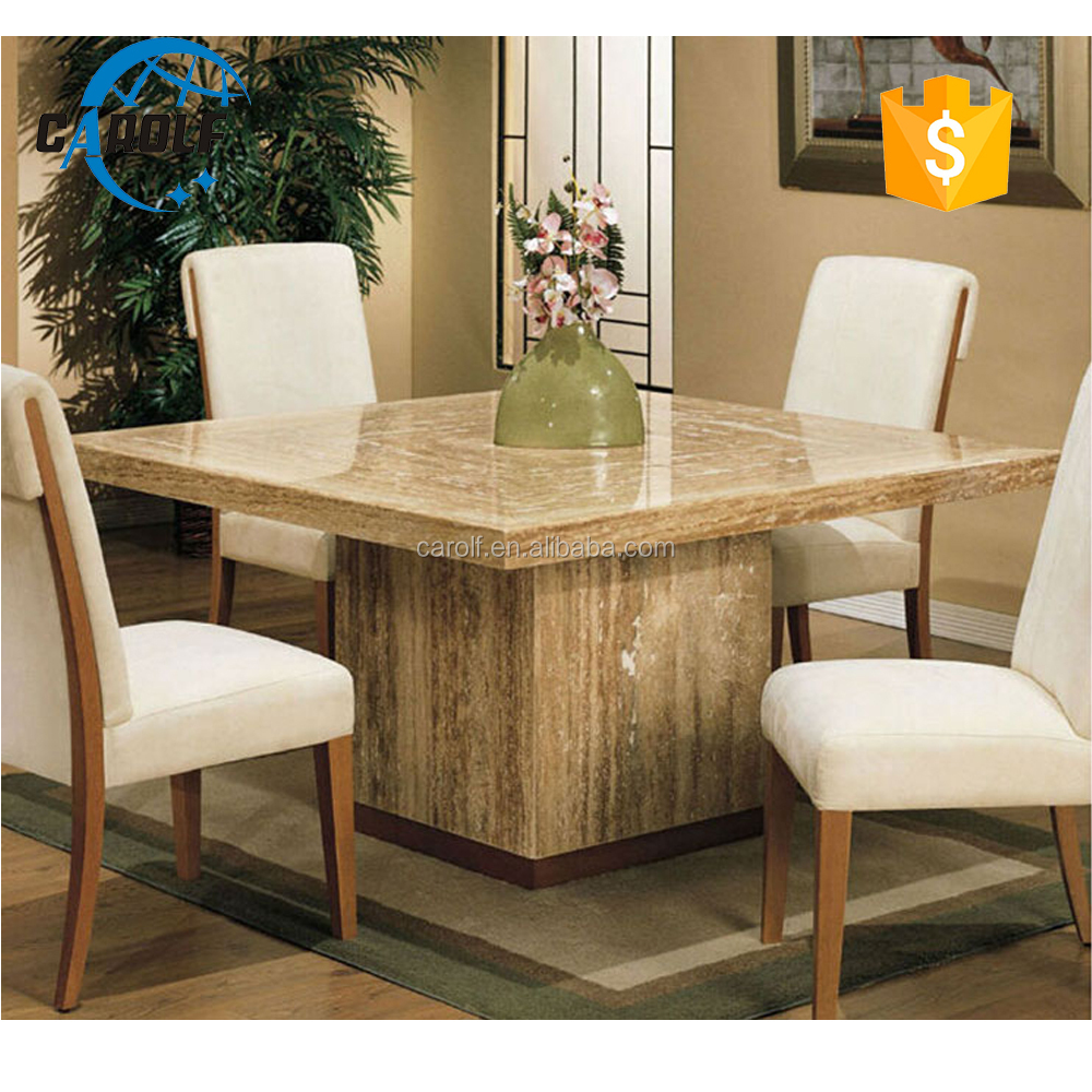 Luxury marble dining table - Travertine Marble Table Sets Travertine Marble Table Sets Suppliers And Manufacturers At Alibaba Com